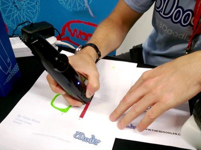3Doodler 3D Printing Pen Demo at IFA 2013