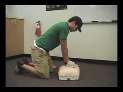 Adult CPR Demo (AHA Basic Life Support)