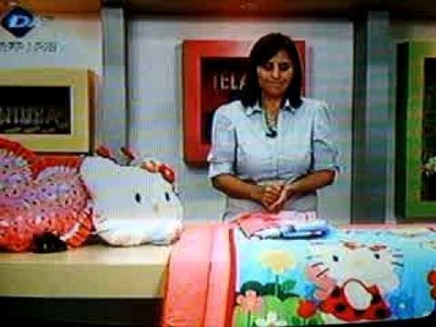ALMOHADON HELLO KITTY 5 DE 5 PARTES.
