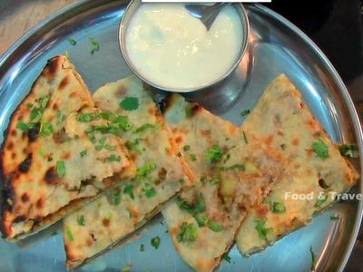 ALU PAROTA  | HOW TO MAKE PAROTA| INDIAN STREET FOOD