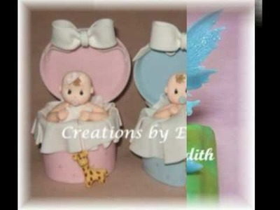 Baby Shower Cake Toppers or Favors
