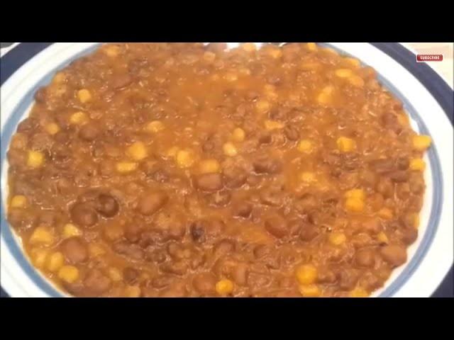 Beans and Corn (Adalu) | DIY Naija Style.