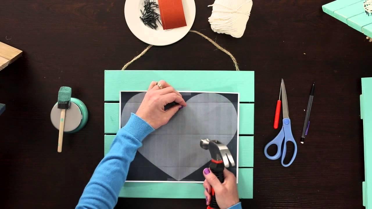 Bottle Cap Inc Yarn Art Pallet| Craft Academy