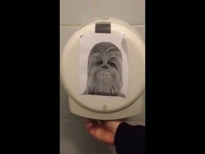 Chewbacca Toilet paper
