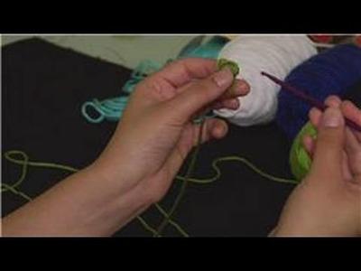 Crochet a Crinkle Scrunchie : Crinkle Scrunchie Crochet Stitches