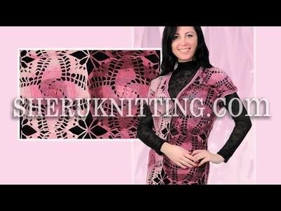 Crochet Large Tunic Model 4 Free Patterns