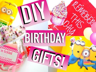 DIY Birthday Gift Ideas! | Easy & Affordable ♡ | Quick, Cute, Simple