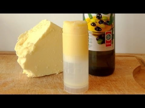 DIY Creamy Shea Butter Stick For Stretch Mark Prevention