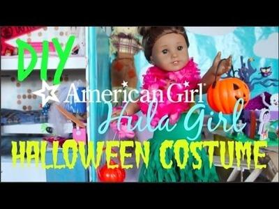 DIY Hula Girl Halloween Costume for AG Dolls!
