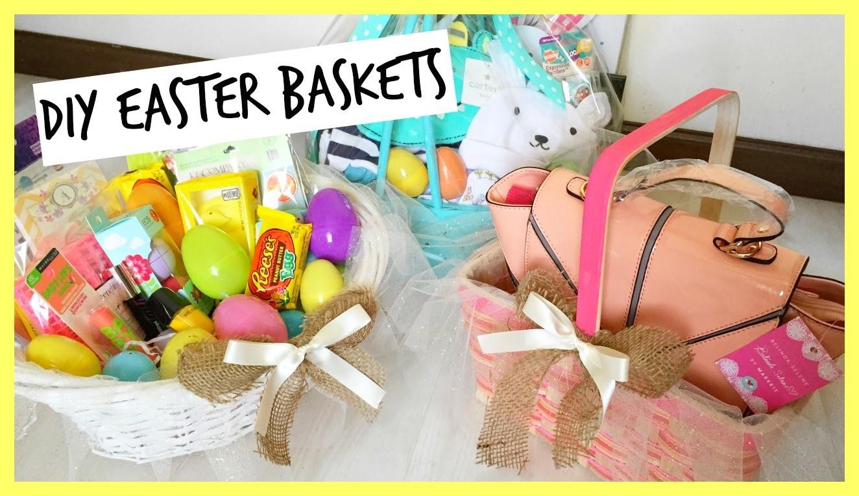 DIY.Making Easter Baskets! See What's Inside! BelindasLife