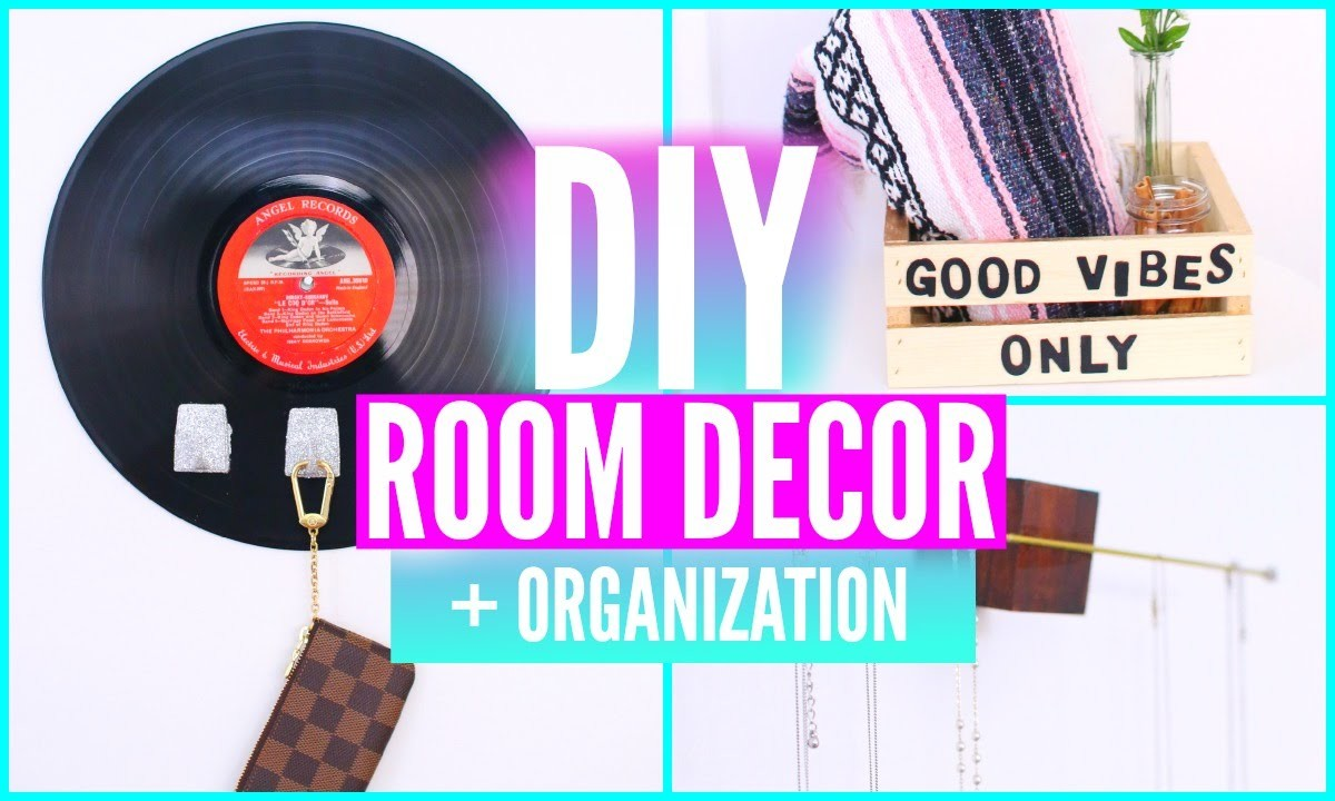 DIY Room Decorations And Organization! Organize Your Room For Summer 2015!