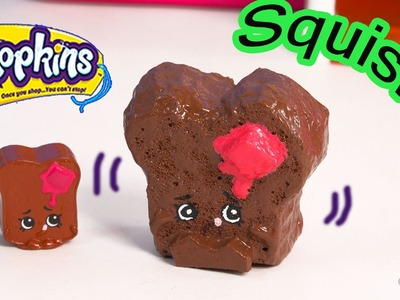DIY Shopkins Season 3 Toastie Bread SQUISHY TOY Craft Make & Do It Your Self How To Video