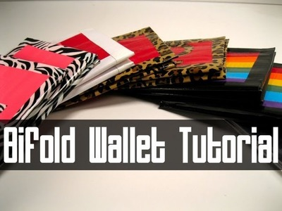 Duct Tape Wallet (Pokemon style!) Tutorial