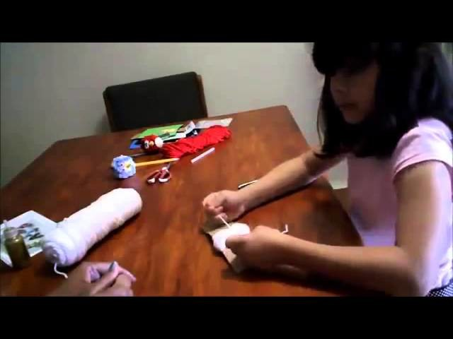Easter Bunny - Craft tutorial (English)