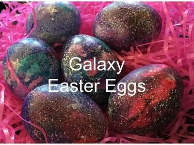 Galaxy Easter Eggs ♡ {Egg Decorating} ♡ Jessica Joaquin