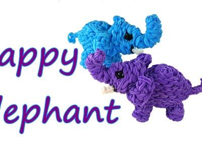 Happy Elephant Tutorial by feelinspiffy (Rainbow Loom)