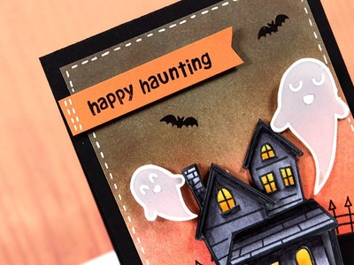 Happy Haunting - Make a Card Monday #202