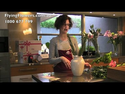 How To Arrange Carnations Chrysanthemums & Lilies