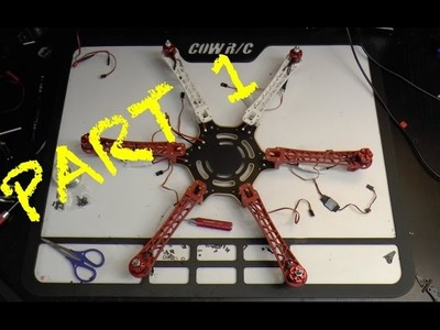 HOW TO | BUILDING.CONVERTING TO THE DJI F550 FROM F450
