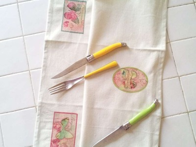 How To Create Pretty Fabric Decoupage - DIY Crafts Tutorial - Guidecentral