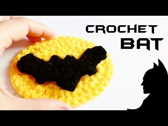 How to crochet a BAT (Batman Logo)