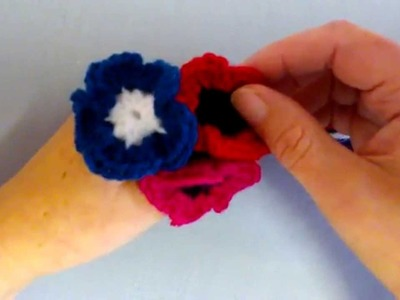 How to crochet my quick and easy Poppy plus a little rant and rave about war and climate change