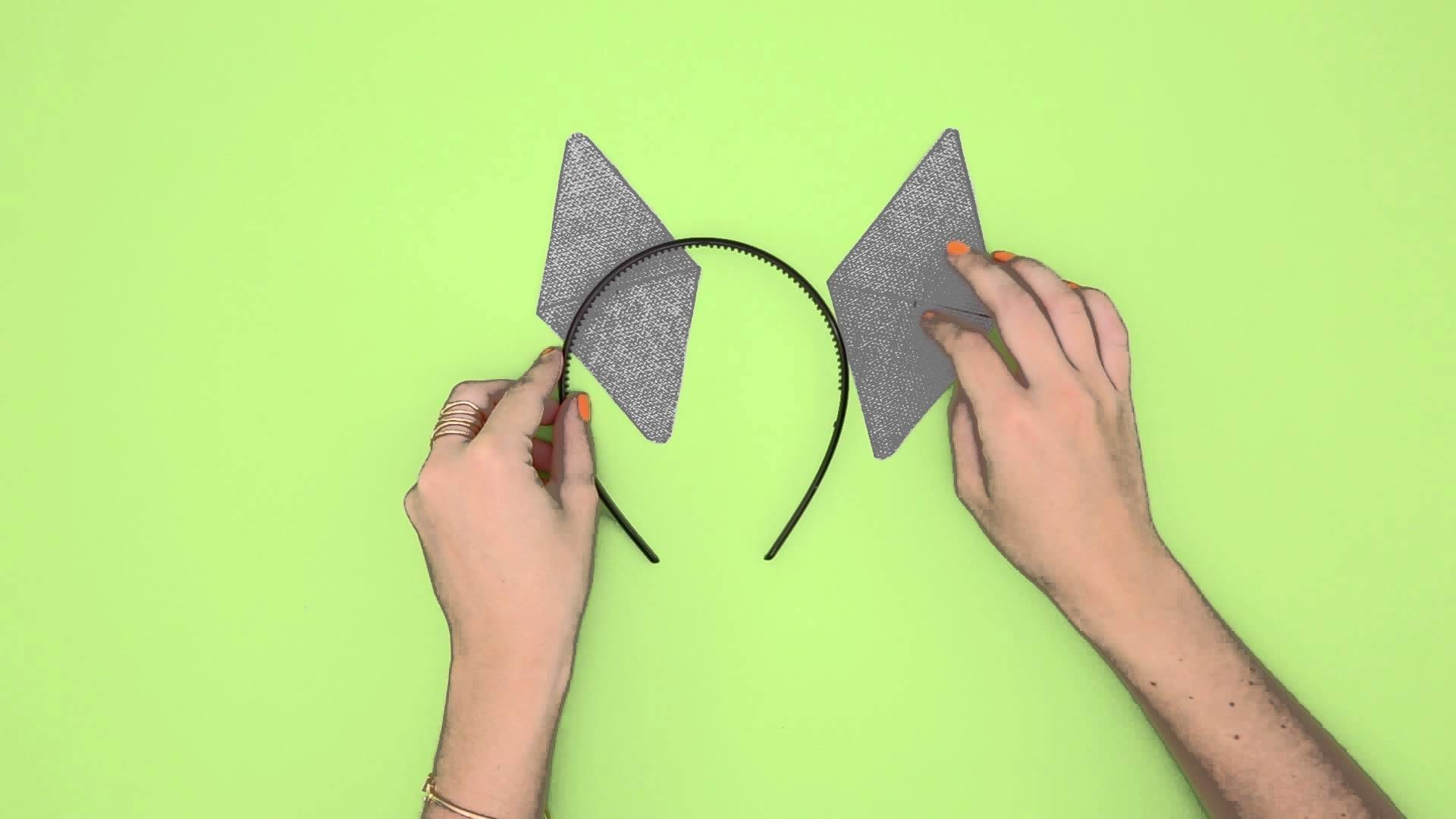 How to DIY Cat Ears