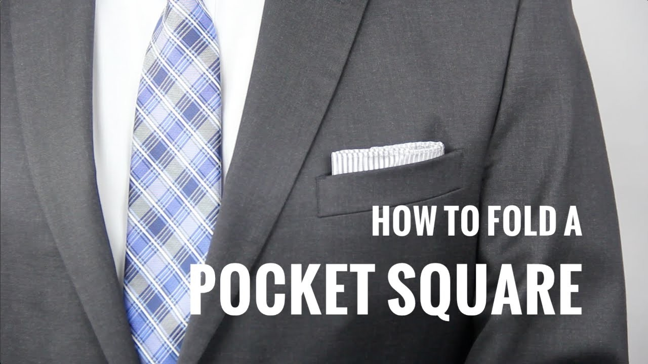 How to Fold a Pocket Square 7 Ways | The Distilled Man
