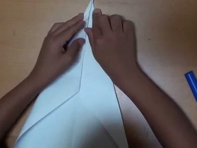 How To Fold A Shark Paper Airplane