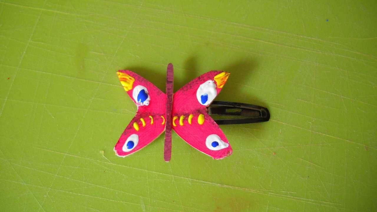 How To Make A Beautiful Butterfly Hairclip - DIY Style Tutorial - Guidecentral