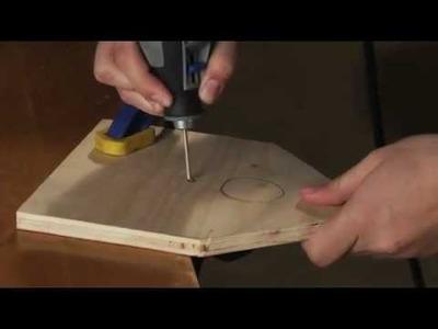 How to Make a Birdhouse: Dremel MotoSaw