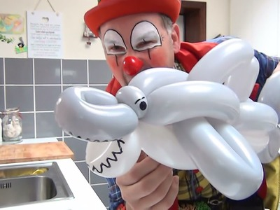 How to make an easy 3 balloon shark