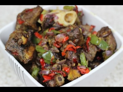 How to make Asun - Spicy Goat Meat - Nigerian Food