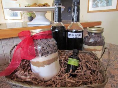 How to make Vanilla Extract Part 2 Cookie Jar Mix Gift Basket DIY EZ