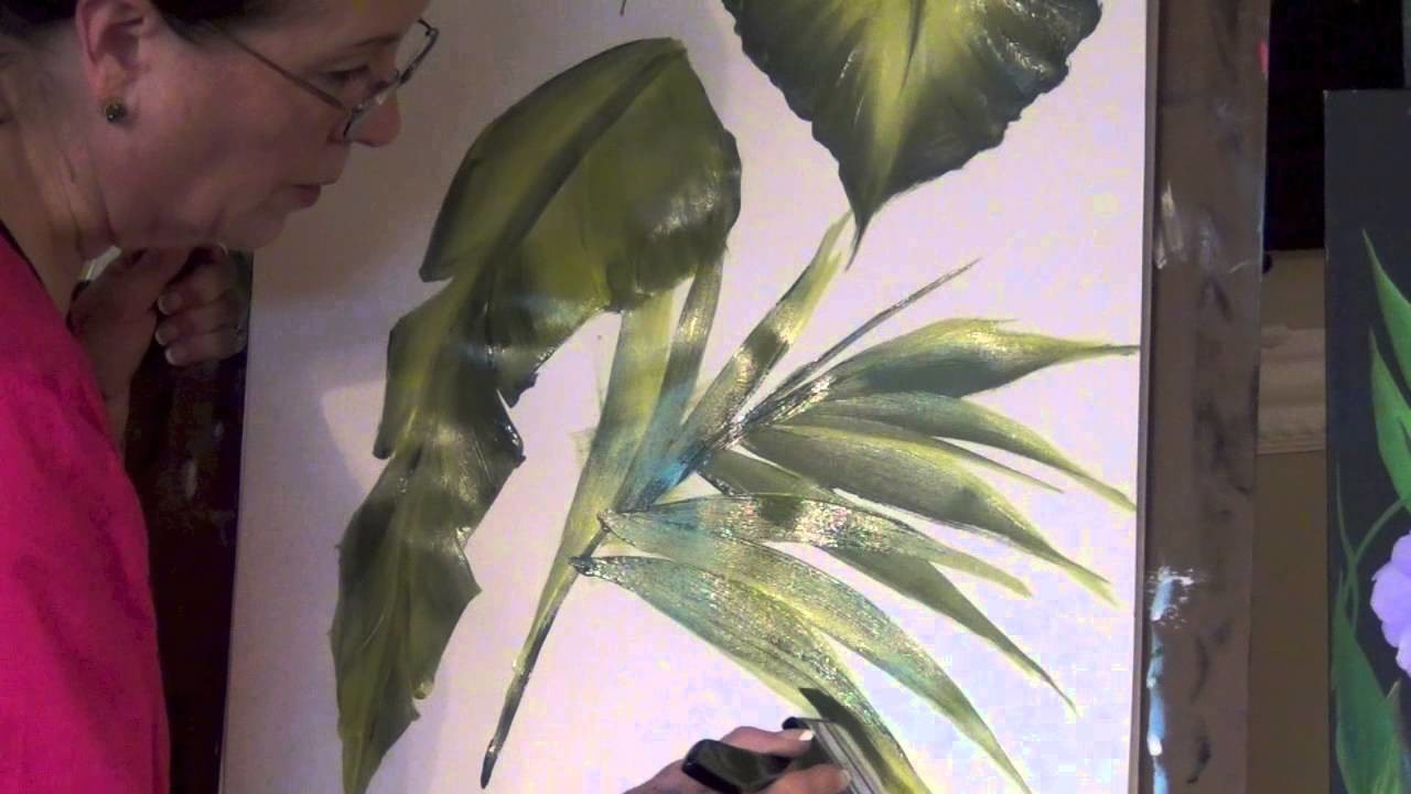 How To Paint With Oversized Brushes