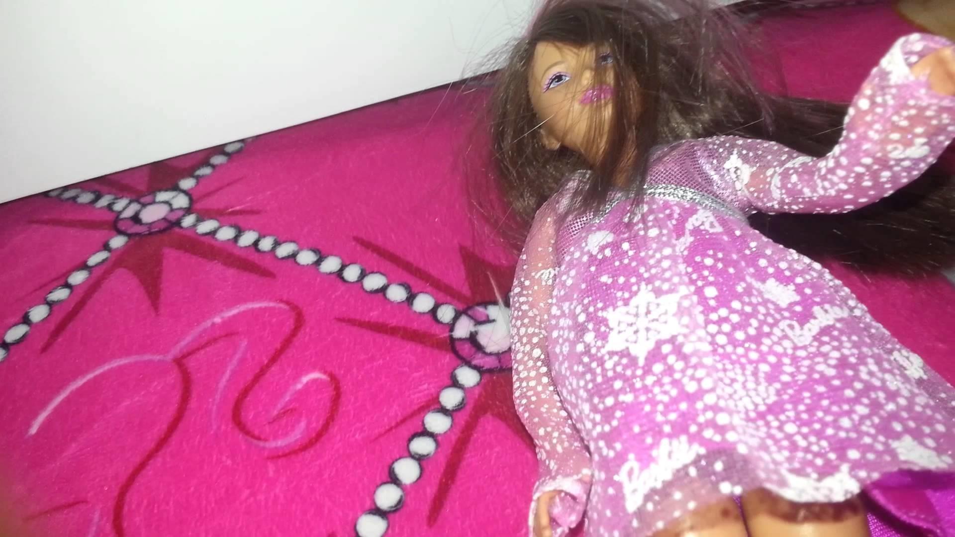 How to repair a doll's leg