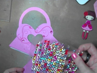 Let's Get Crafty # 80 Valentines Treat Box