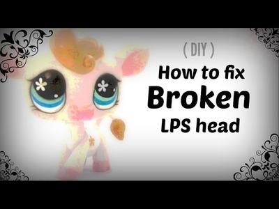 LPS : How to fix broken LPS head ( DIY )
