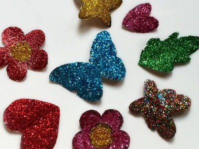 Make Sparkly Glitter Stickers - DIY Crafts - Guidecentral