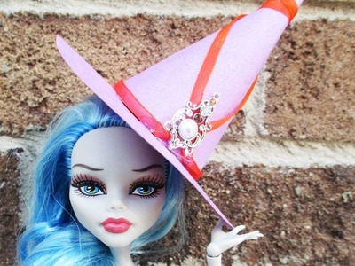 MONSTER HIGH TUTORIAL Halloween Witch Hat