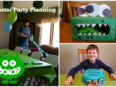 Monster Party: Decor and Meal Plan!
