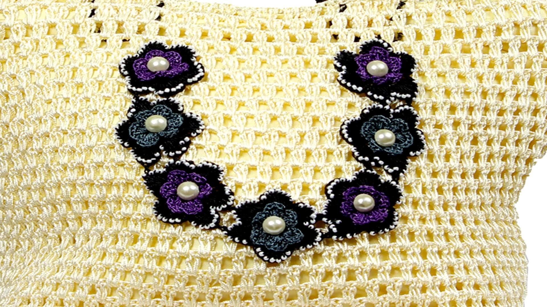 Outsized Crochet Hand Bag