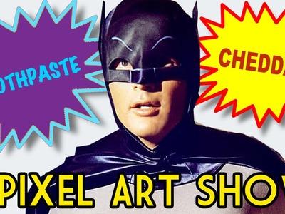 Perler Bead 60s Batman - Pixel Art Show