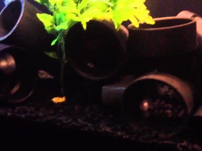 Pipes for Aquarium Decorations, Do It Yourself Decor