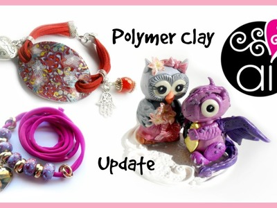 Polymer Clay Creations Update | Bracciali | Collane | Cake Topper