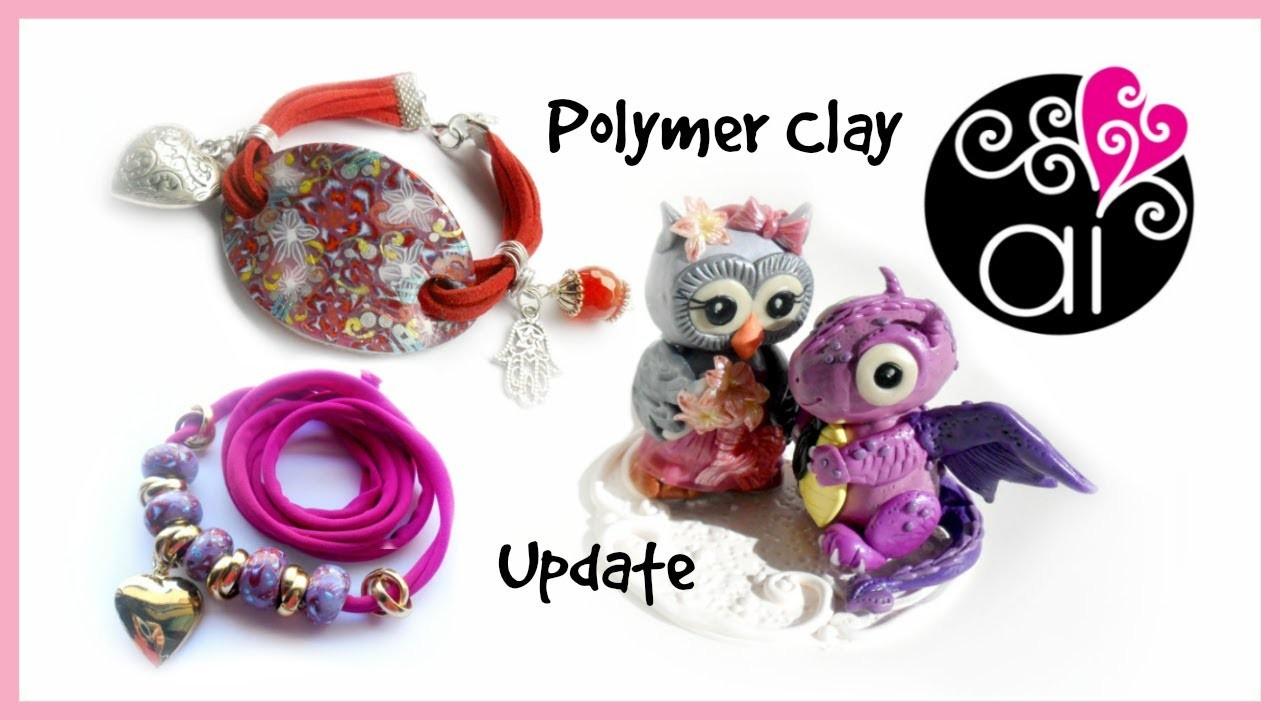 Polymer Clay Creations Update | Bracciali | Collane | Cake Topper