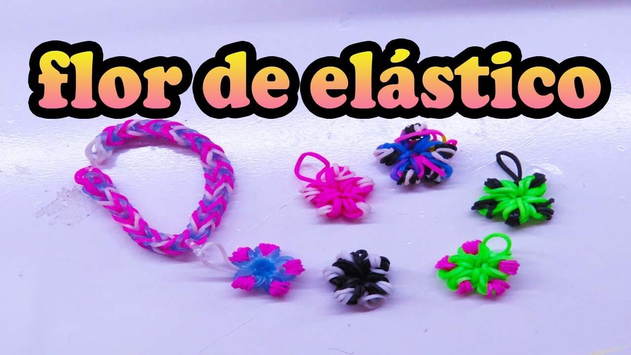 Rainbow Loom -flor de elástico