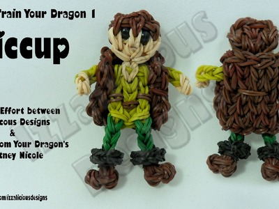 Rainbow Loom - Hiccup from HTTYD1 - Action Figure.Charm - © Izzalicious Designs 2014