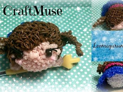 Rainbow Loom Loomigurumi Anna (Inspired by TSUM TSUM)