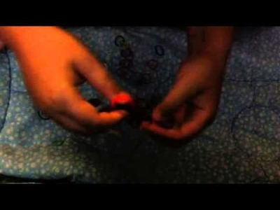 Rainbow Loom Triple Fishtail With Your Hands (Easy)